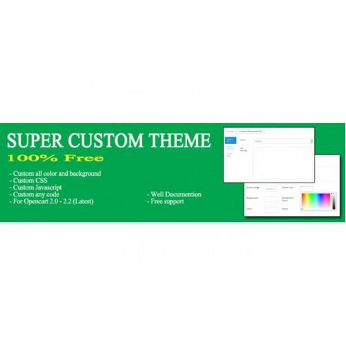 Super custom theme
